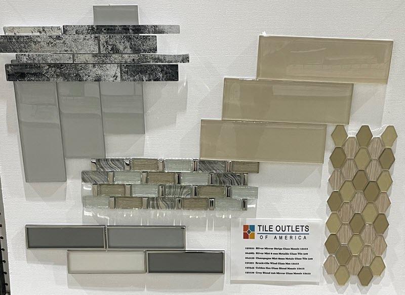 Mosaics Combination Concept Board #2